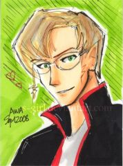 Copic Marker Sketch (Trading card)