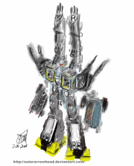 SDF-1 Macross DYRL Sketch