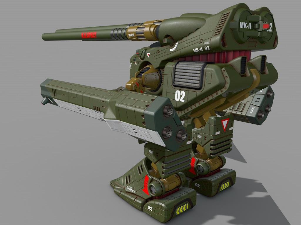 HWR-00-MKII  Macross Monster in standard colours 2