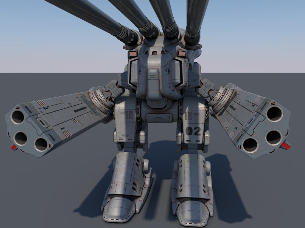 """HWR-00-MKII  Macross Monster in """"Sea Monster""""  colours 1"""