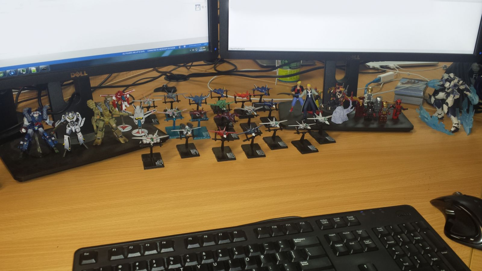 Desktop Fighter Collection
