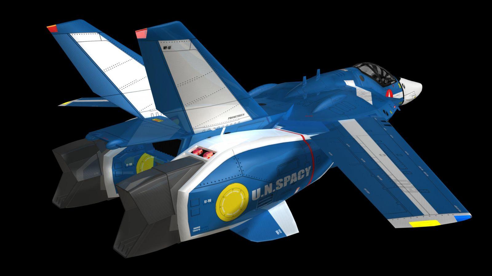 MAX VF-1J TV Jet 8