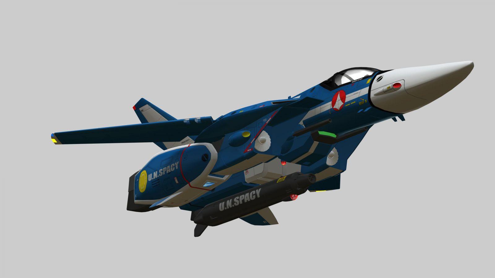 MAX VF-1J TV Jet 7