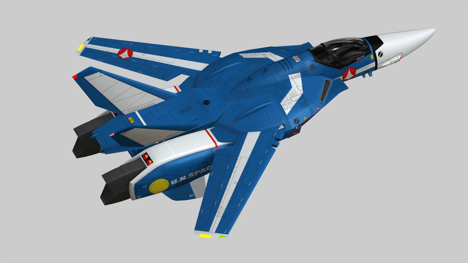 MAX VF-1J TV Jet 6