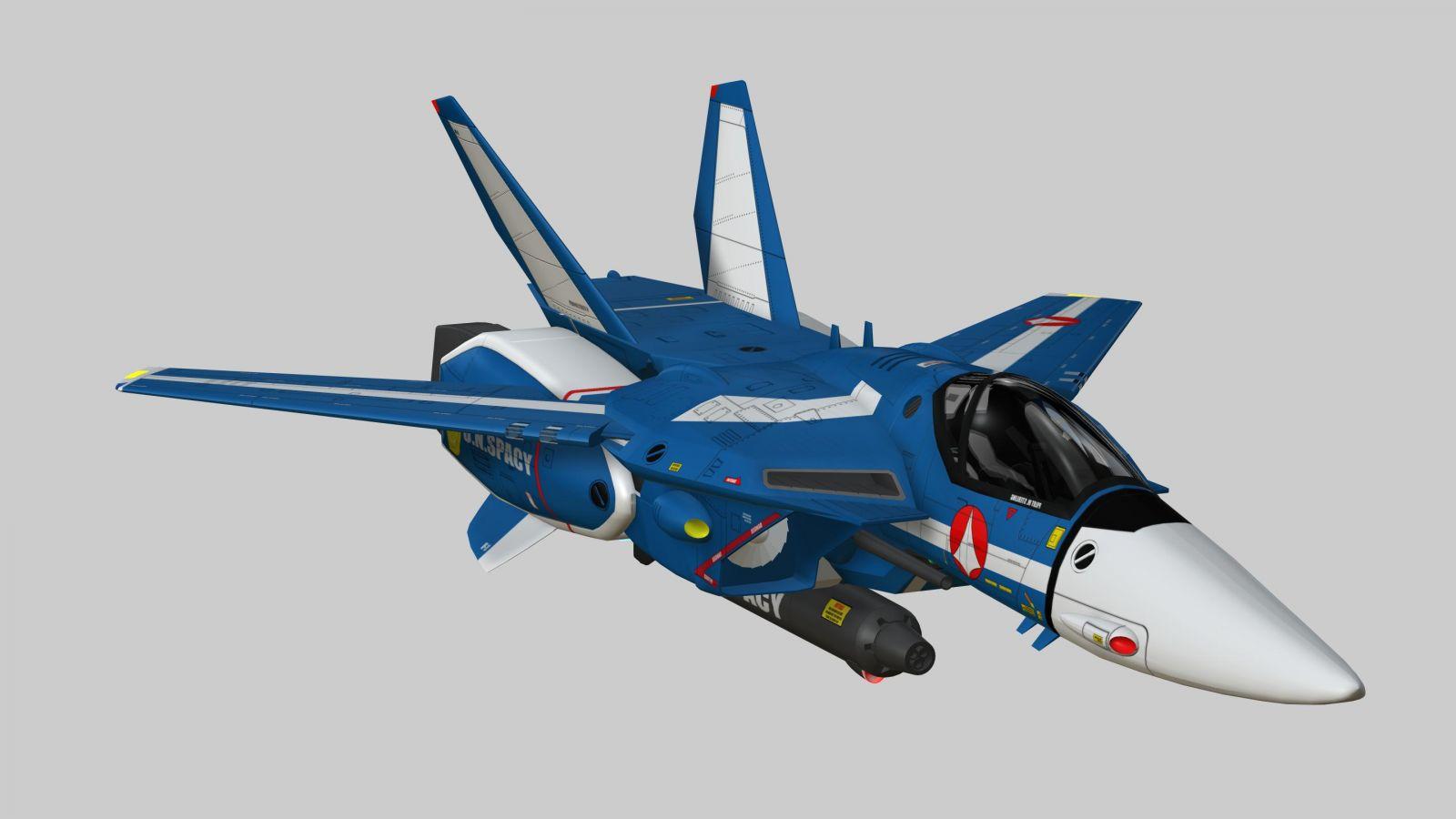 MAX VF-1J TV Jet 3