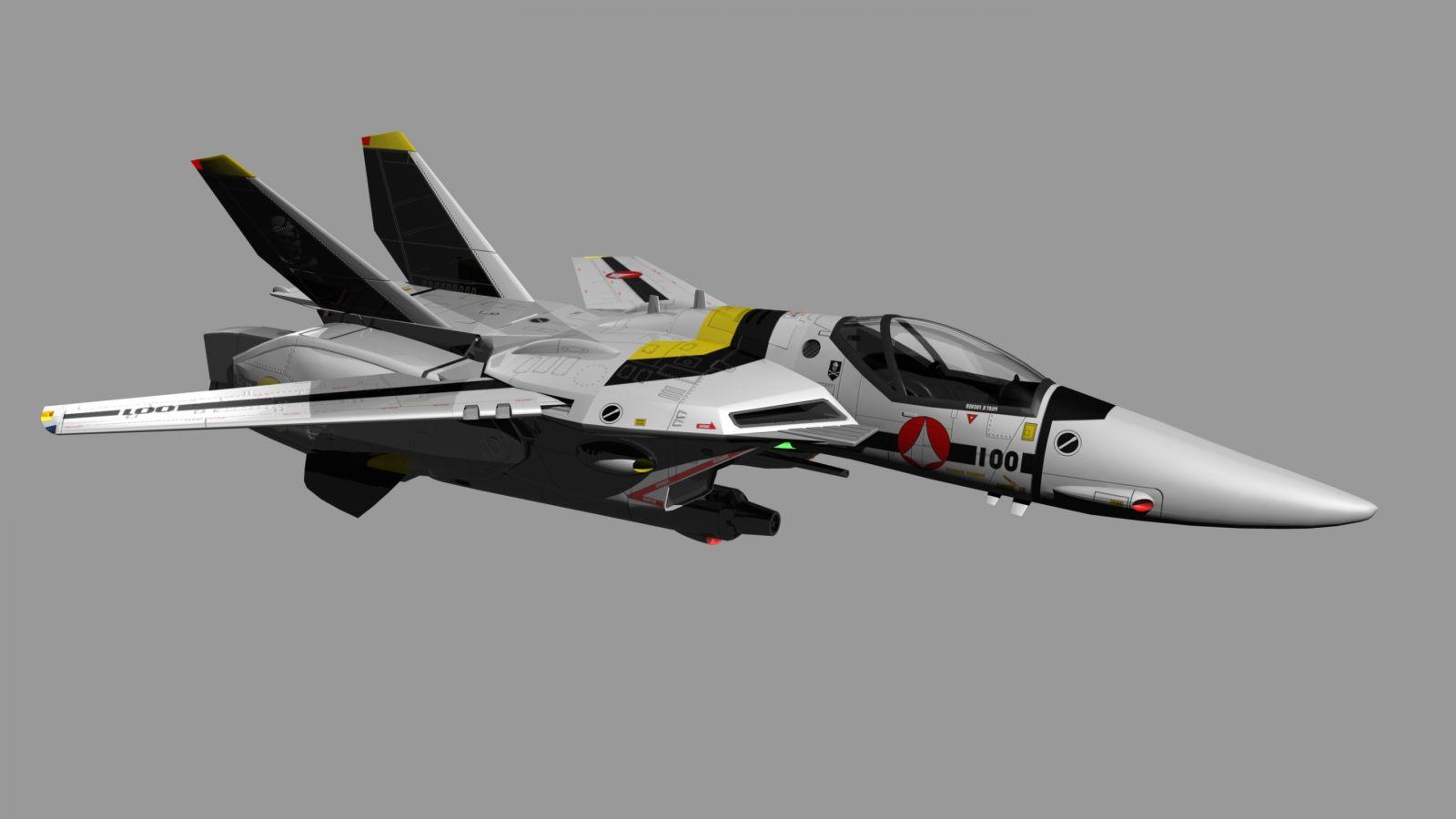 CG VF-1S Roy Fokker - Jet
