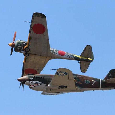 Ki-43 and P-40....