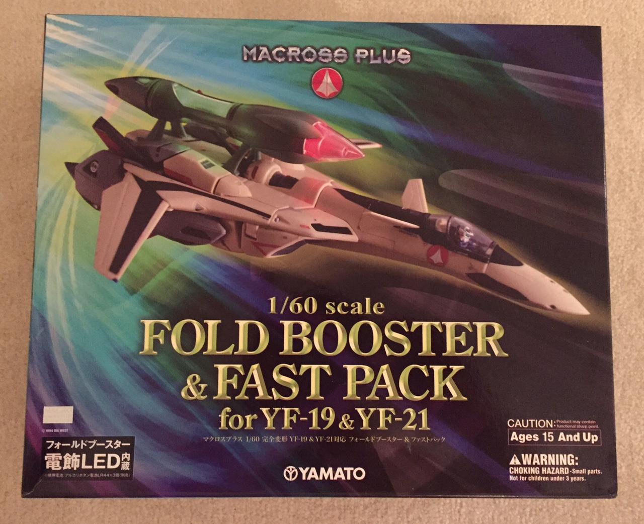 foldbooster&fastpack yf19&yf21