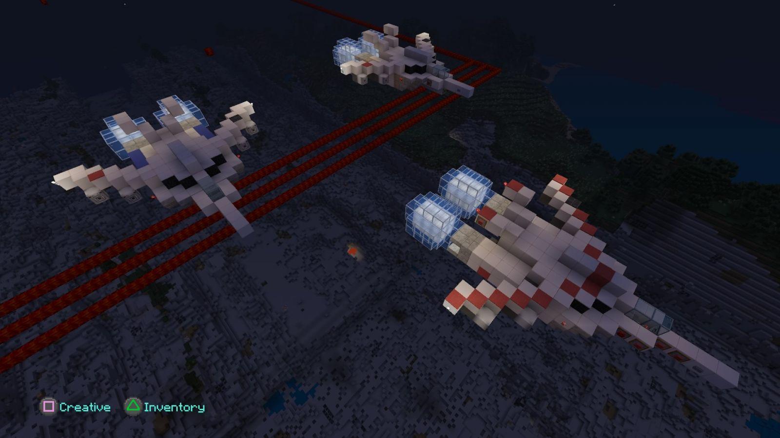 Minecraft  Minecraft Vermillion Squadron