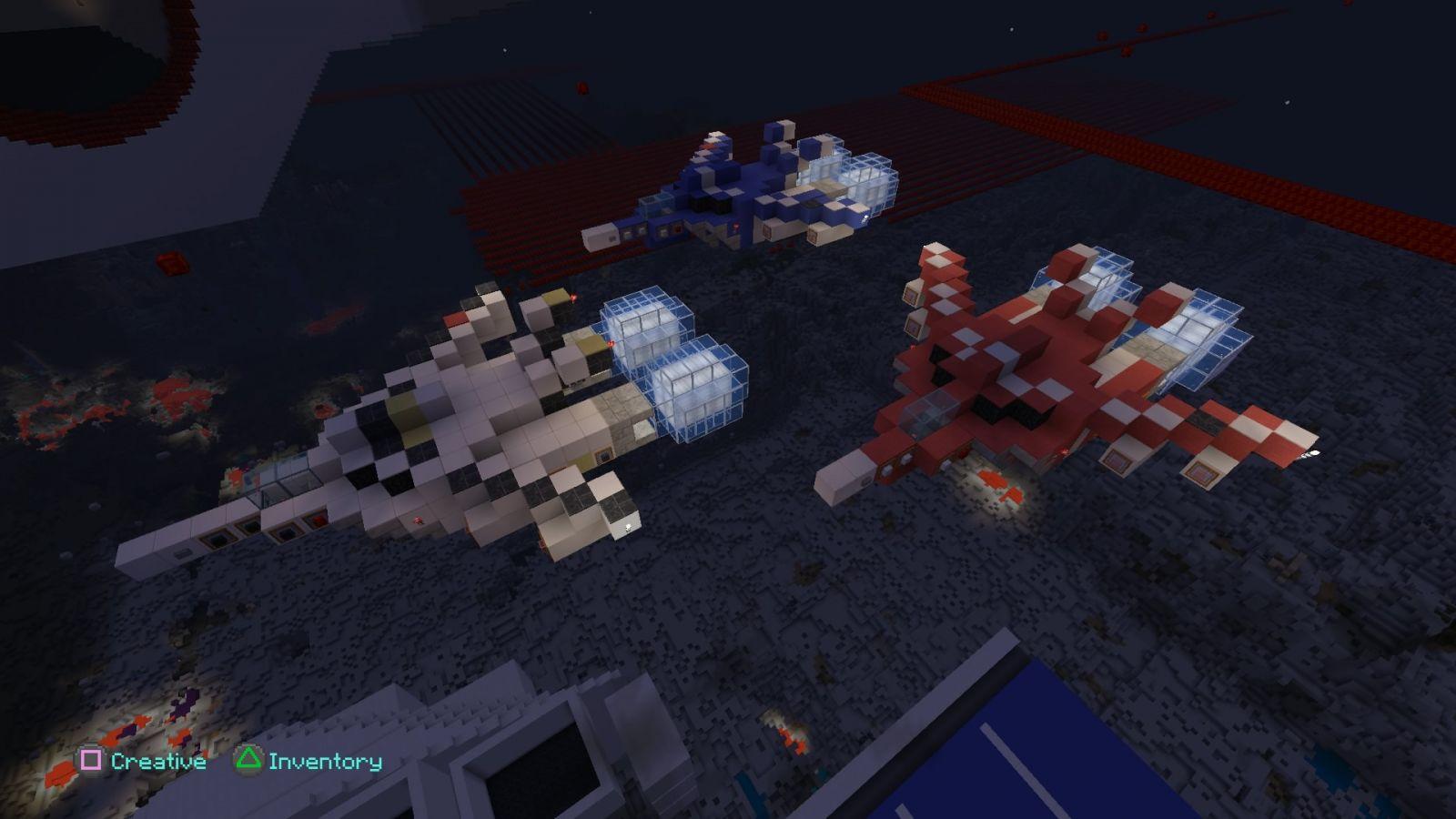 Minecraft  Macross Skull Sqaudron