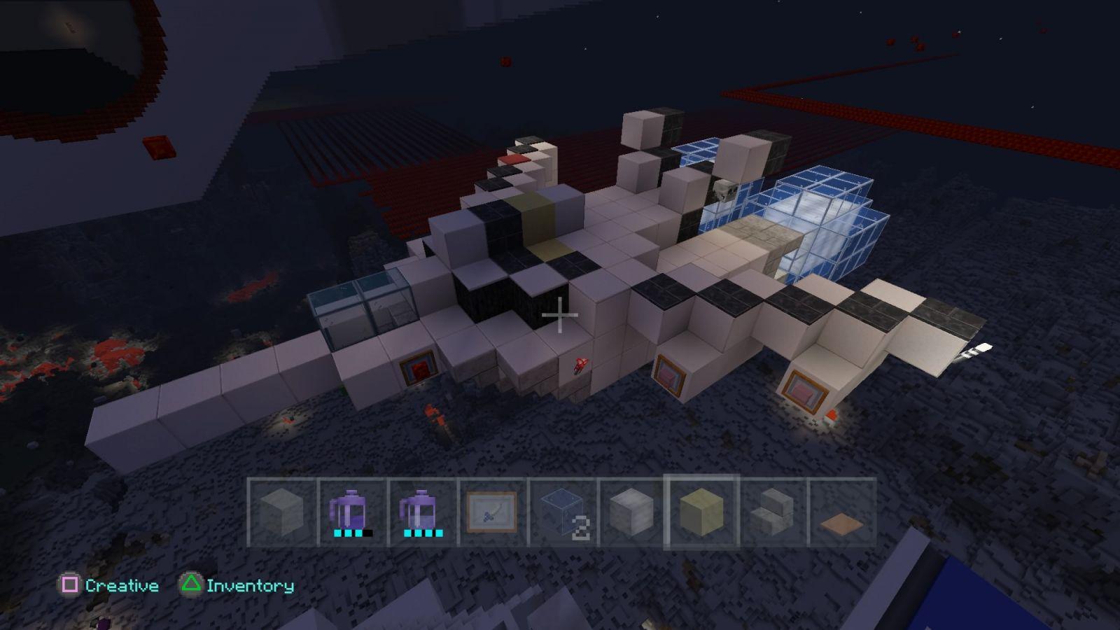 """Minecraft  Macross VF-1S """"Skull Leader"""""""