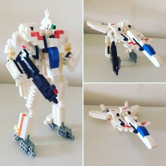 Nanoblock VF-11B and VF-11C