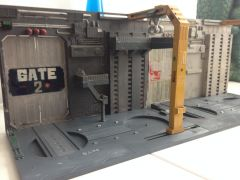 My Revell Robotech Factory that I had as a kid - built and painted with the skills I had then!