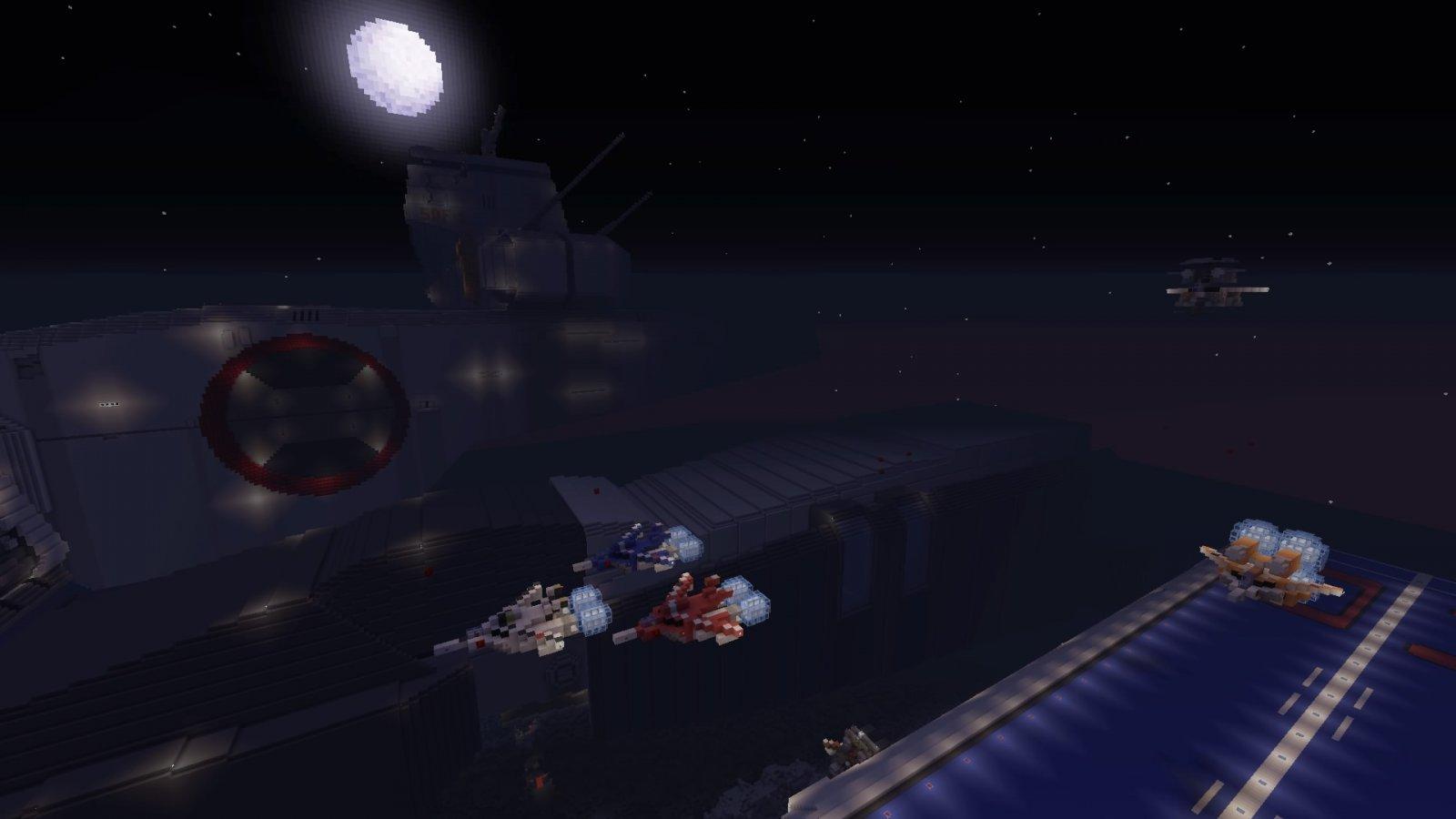 Port Side at night