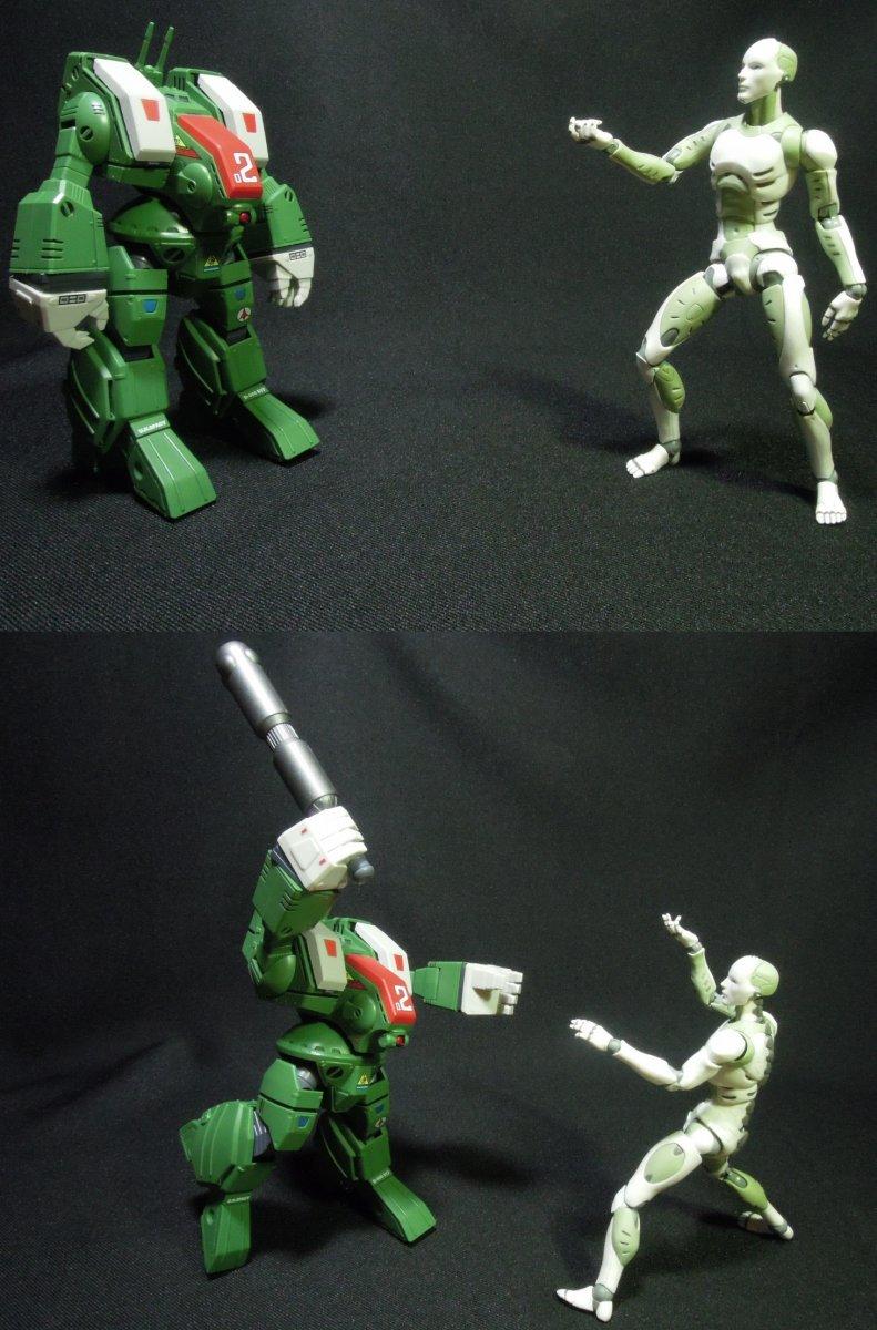 Spartan vs Synthetic Human