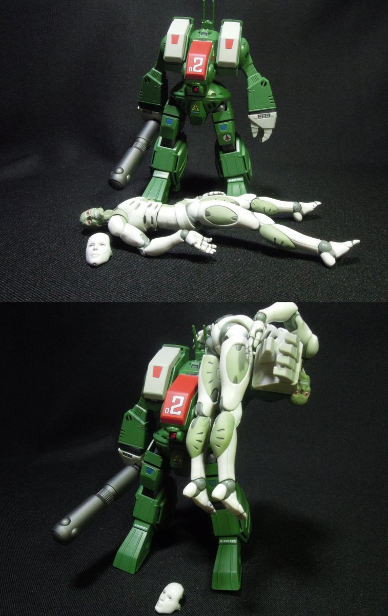 Spartan vs Synthetic Human: Aftermath