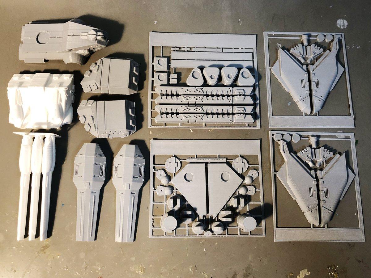 UFO Man Gallery Macross II Giant Monster 3D Printed Kit (3).jpeg