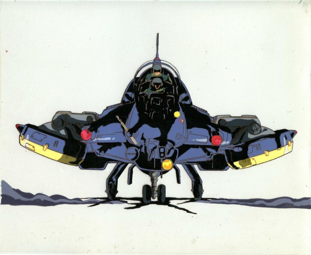Megazone 23 Flagger001.jpg
